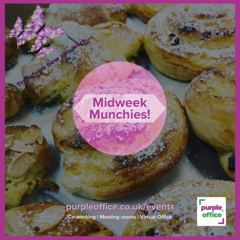Picture of croissants at Midweek Munchies which are offered every Wednesday from 10am at Purple Office, Poundbury.